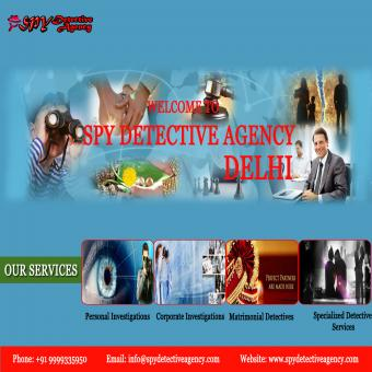 Best Detective Agency in Delhi-India || Spy Detective Agency